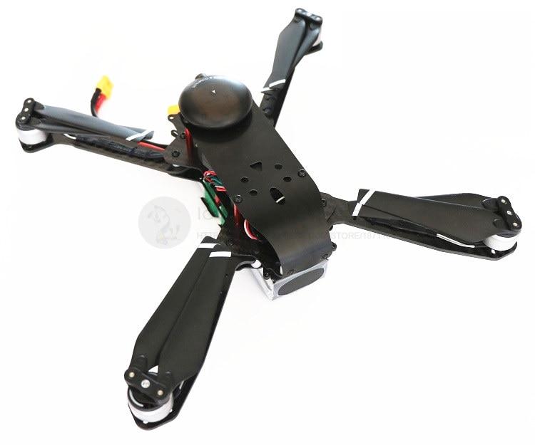 DIY FPV الجوي drone DH335 للطي 3 K ألياف الكربون النقي هيكل حوامة رباعية مع الهبوط هيكل الطائرة كيت-في قطع غيار وملحقات من الألعاب والهوايات على  مجموعة 3