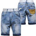 5979 summer baby shorts baby denim jeans shorts pants calf-length 70% length baby jeans boy kids fashion soft denim cool