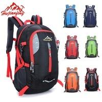 New Waterproof Nylon Men Backpack Hike Camp Climb Bag Women Mochila Travel Hiking Bag Rucksack Trekking