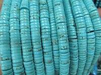 Chất lượng cao 2 sợi 8-16 mét Turquoise Heishi pinwheel Hạt, lime green màu xanh màu đen đỏ trắng hồng tím oranger hỗn hợp lỏng bea