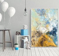 New Style Color Dream Abstract Art High Quality Canvas OIL Painting Poster Wall Pictures For Home Decoration Wall Decor
