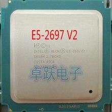 E5-2697V2 Intel Xeon официальная версия E5-2697 V2 12 ядер 2,7 ГГц 30 Мб FCLGA-2011 22NM 130W E5 2697V2 Процессор E5 2697 V2