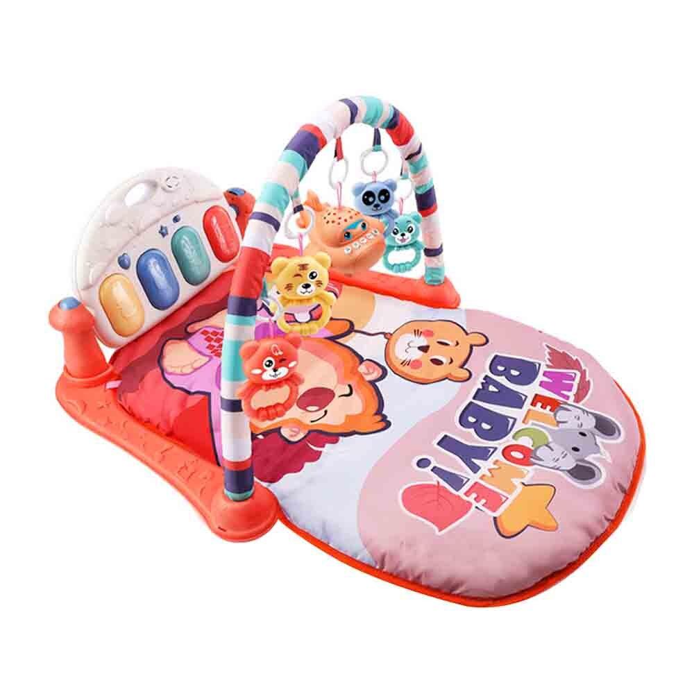 Bébé pied Piano Fitness cadre jouet éducation précoce apaiser jouet nouveau-né 0-1 bébé ramper activité tapis jouets