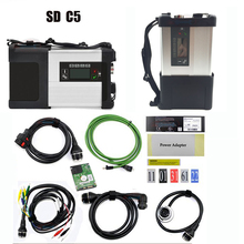 Mulit-Language Super MB Star C5 with Software MB Star SD C5 SD connect diagnostic tool+V2019.07 HDD Software Expert mode support цены онлайн