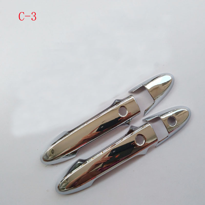 Free Shipping Car Door Handle Covers Abs Chrome Accessories For Honda Hrv Vezel 2014 2015 2016
