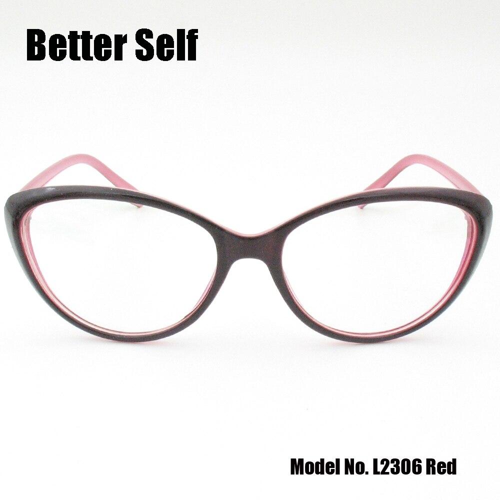 c99273a6f83 Better Self L2306 Full Rim Spectacles Beauty Eyewear PC Optical Eyeglasses  Myopia Optics Myopia Cat Eye