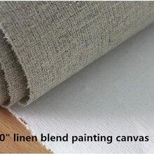 """6"""" широкие льняные смесь тонкой текстуры холст картина для студенческая практика 330gsm"""