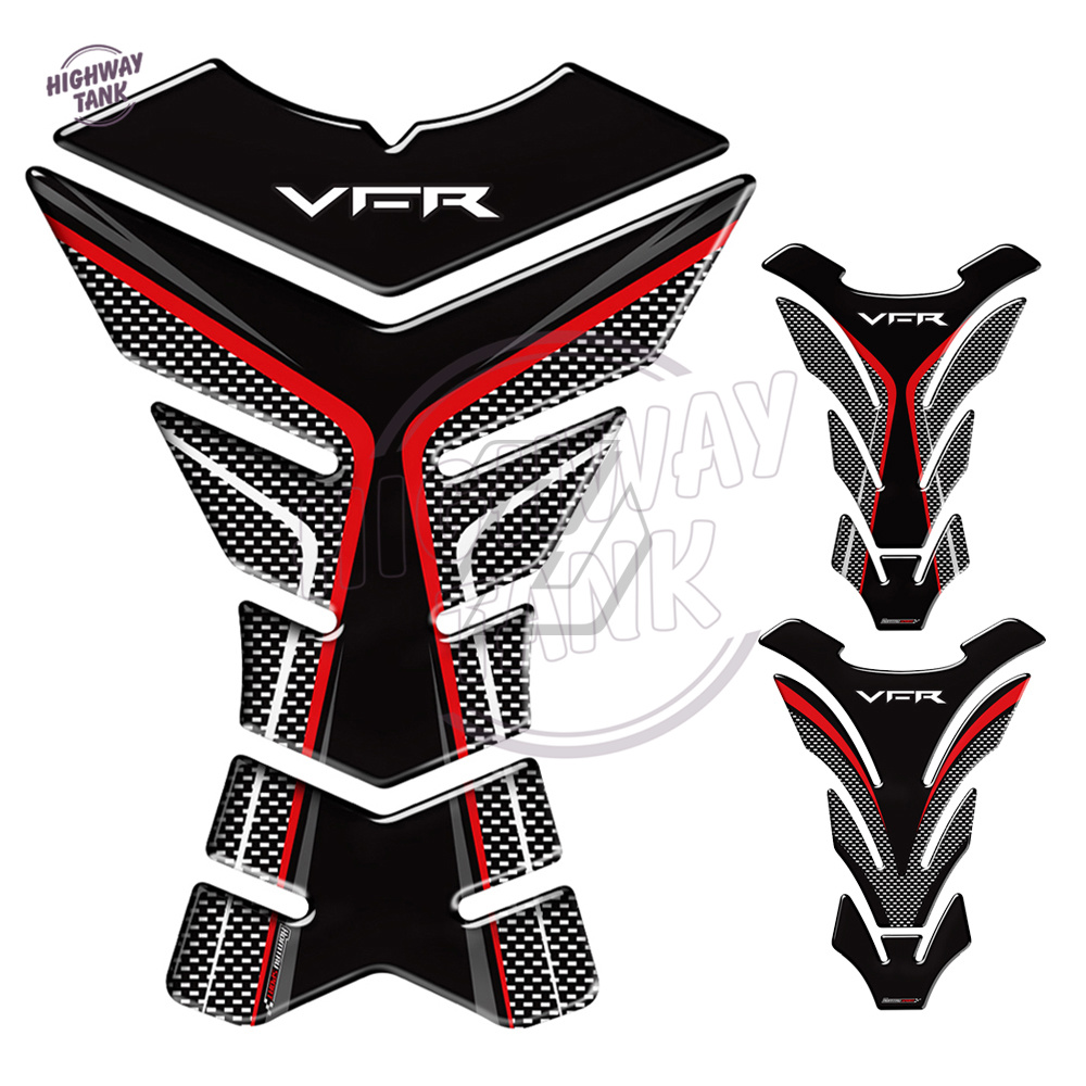 Exclusive Tank Pad 3D Stickers Carbon for Tank Motorcycle Honda Crossrunner