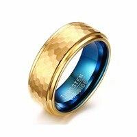 Groothandel 8mm Exquisite Tungsten Carbide Mannen Ring Europa Amerika Wedding Band Paar Liefhebbers Sieraden Valentine Gift Hoge Kwaliteit