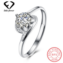 925 Sterling Silver Gemstone Diamond Rings for Women Fashion Fine Jewelry Geometric Anillos De Bizuteria diamond rings
