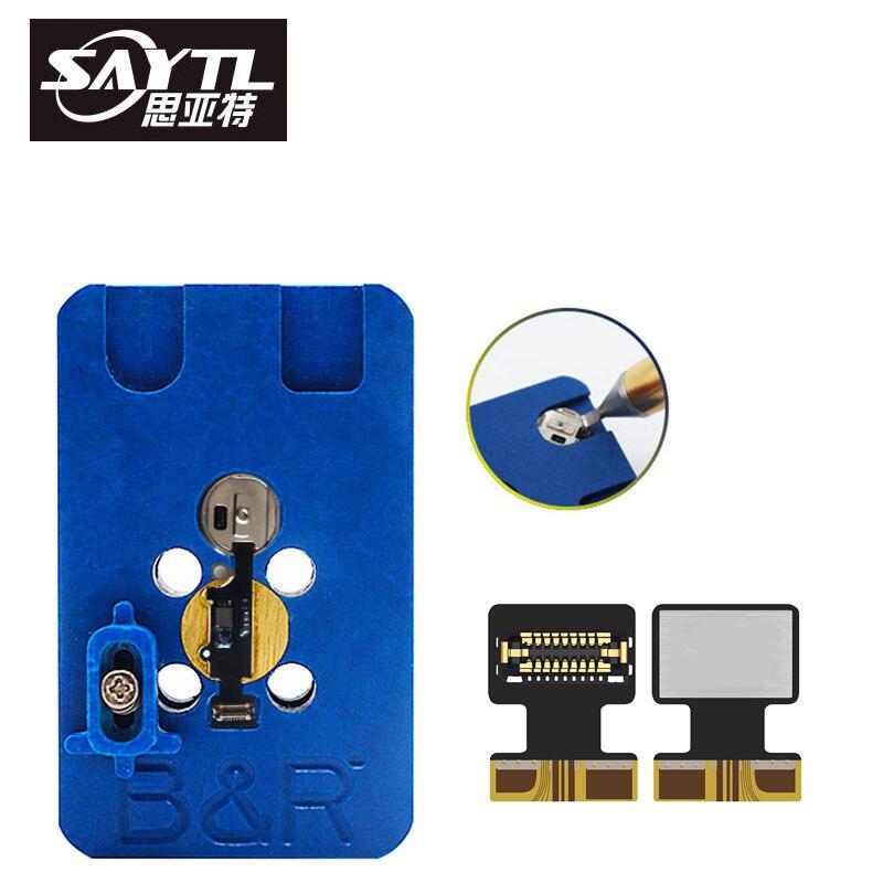 BR IMesa Touch ID Fingerprint Repair Platform With Flex Cable For Fixing IPhone 7 7plus 8 8plus Home Return Button Failure