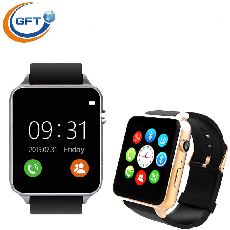 GFT 2502c Smart Watch GT88 Bluetooth SIM V4 0 Camera NFC Heart Rate Monitor support iphone