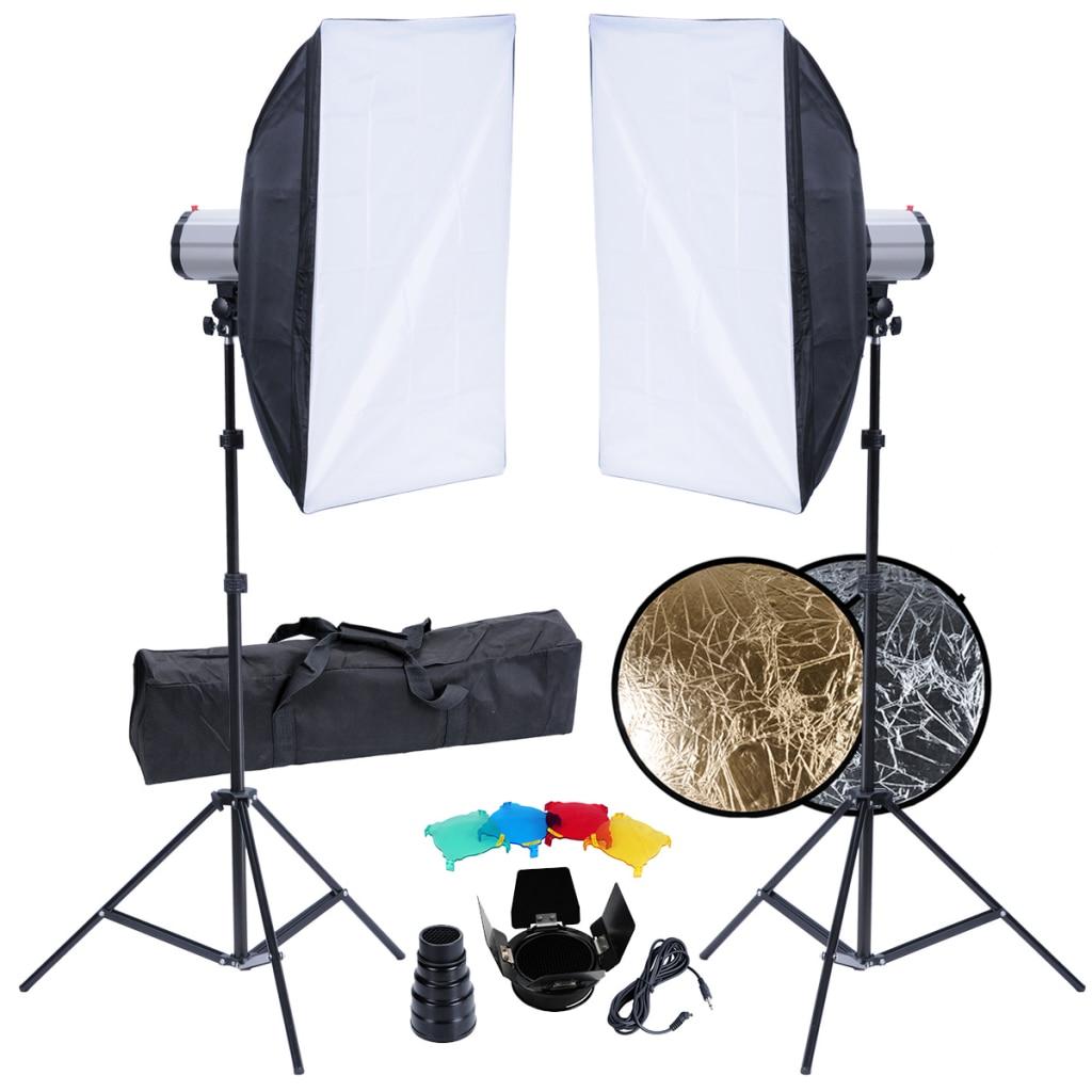 минимальный набор для фотостудии напором