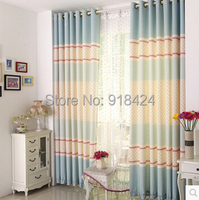 Size:1.5*2.7m HOOK Finish Products Rural style Floral Small fresh window curtains for the bedroom.Free shipping!