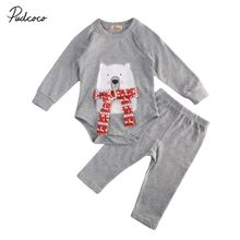 Newborn Clothing Set Casual Toddler Kids Baby Boy Girl Autumn Clothes Outfit Long Sleeve T-shirt Top+ Long Pants Outfits Set