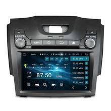 "Octa Core 2 din 8 ""Android 9,0 coche Radio DVD GPS para Chevrolet S10 Isuzu D-Max 4 GB de RAM Bluetooth 3G 4G WIFI 32 GB ROM espejo-enlace"