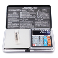 LCD 6 In 1 Multi Function Electronic Scales Digital 0 01 500g Weight Balance With Palm