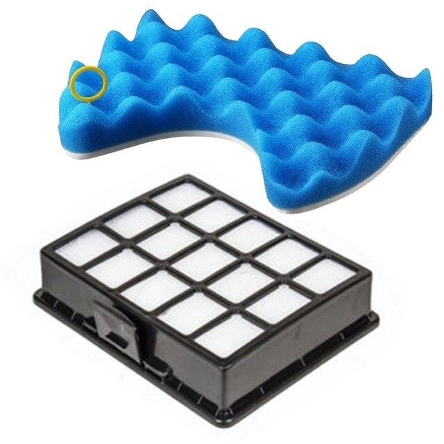 Aspirador de pó filtro peças de reposição conjunto kit de filtros e filtro de esponja para samsung DJ97-00492A sc6520 sc6530/40/50/60/70/80/90 4