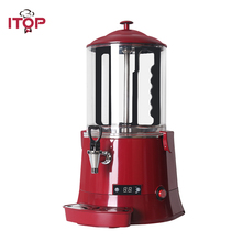 Commercial Hot Chocolate Machine 10L Electric Baine Marie Mixer chocofairy Coffe Milk Wine Tea Dispenser Machine