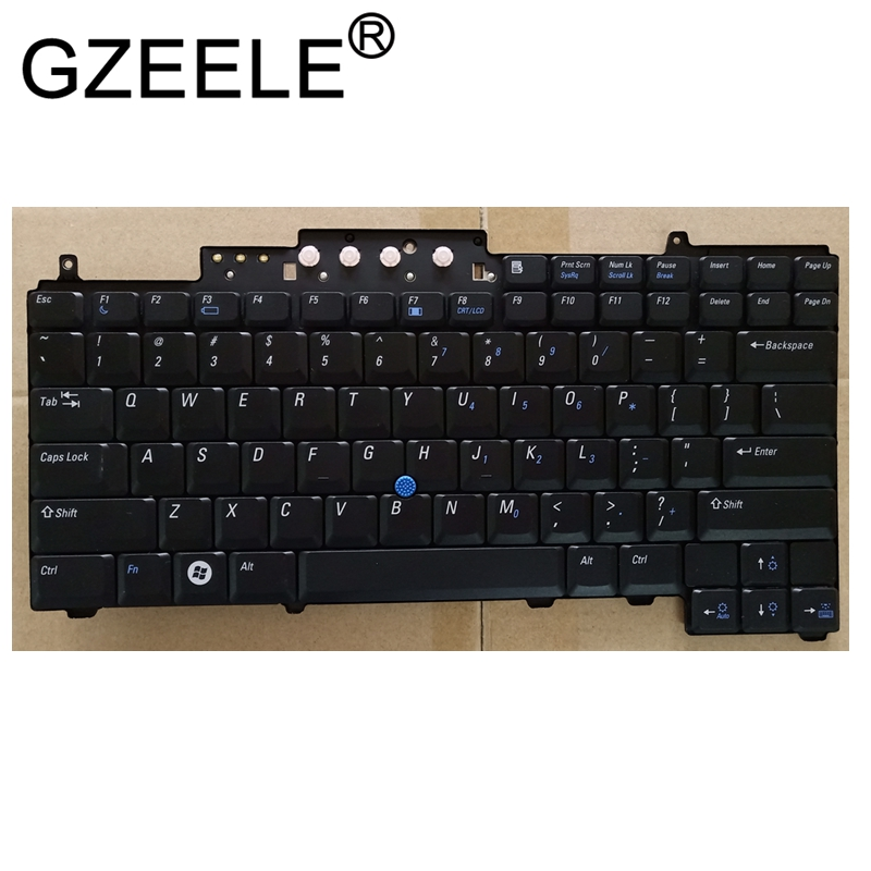 GZEELE English notebook keyboard for DELL for Latitude D620 D630 D631 D820 D830 PP18L laptop keyboard US version