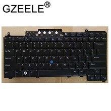 Gzeele teclado de notebook em inglês, teclado para dell para latitude d620 d630 d631 d820 d830 pp18l versão eua