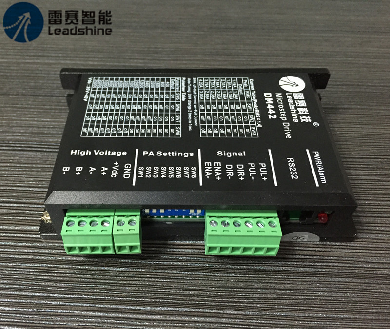цена на Leadshine Digital Stepper Motor Driver DM442 2ph NEMA17 18~40VDC CNC Stepper System