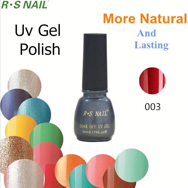 Natural R.S Brand Set For Nail Gel Nail Polish Beauty Uv