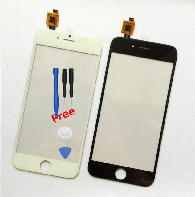 Original novas ferramentas gratuitas china clone china código andriod smartphone para iphone 6 dc-106-5 sj painel digitador da tela de toque do sensor