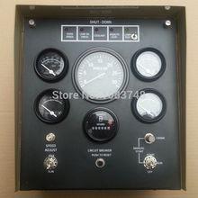 Блок управления генератором 4913742 включает температуру воды, датчик давления масла, регуляторы скорости, панели защиты от превышения скорости