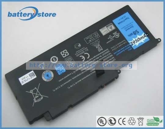 Новые оригинальные аккумуляторы для ноутбуков 14,15, 17, F7HVR, 062VNH, 62VNH, 15PD 2748R, 89JW7, 15HD 1828T, 14,8 в, 4 ячейки laptop battery new laptop batterybattery for laptop   АлиЭкспресс