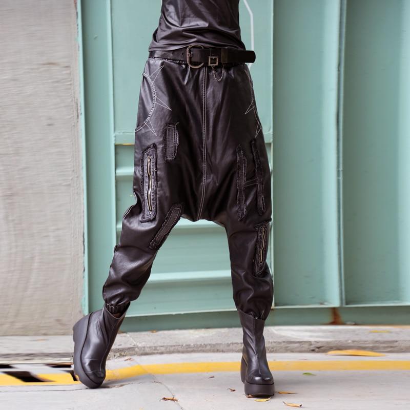 Moda De Pu 2018 pantalones Personalidad Irregular ewq Asimetría Las Hip Be113 Nueva Otoño Suelto Mujeres La Black Hop 1qxZE8t