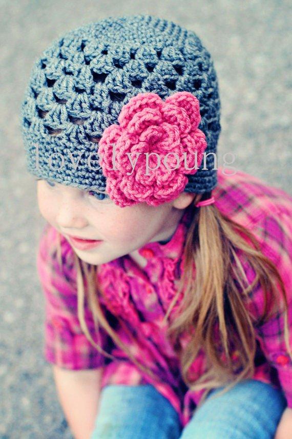 Лидер продаж, вязаная крючком Цветочная шапка для девочек, детские вязаные шапки, шапка, Весенняя детская головная одежда, детская шапка
