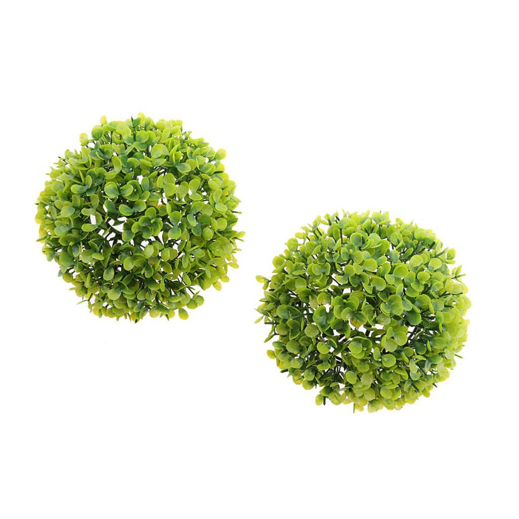 1 шт. 17 см искусственные подстриженными комнатные растения мяч бассейн, дворик сад крыльцо зеленый