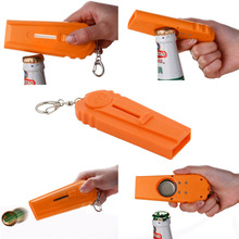 Creative Plastic Ejection Beer Bottle Opener Kitchen Tool with a Handy Key Chain Party Supplies