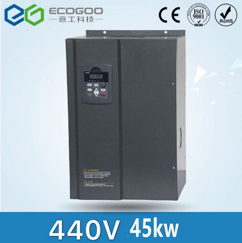 все цены на Free Shipping-High Quality 45KW/3 Phase 440V(460V) /80A Frequency Inverter-Vector control 45KW Frequency Drive/ Vfd 45KW онлайн