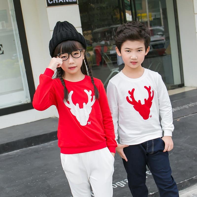 Rahat Aile Eşleştirme Kıyafet Bakmak Noel Geyik Tops Giyim Aile - Çocuk Giyim - Fotoğraf 3