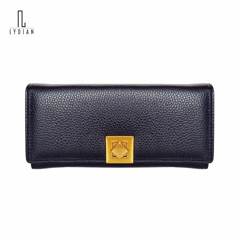 2018 Europe Square Turn Buckle Women Wallet Gold Stone Pattern Genuine Leather Clutch Long Purses Purple Large Organizer Wallets europe s long twelfth century