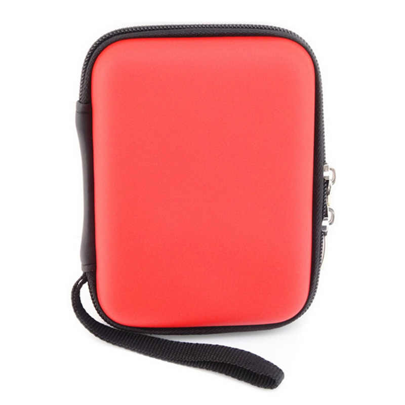 Original Portable 2.5 inch External Storage USB WD Hard Drive Disk HDD Carry Case Cover Multifunction Cable Earphone Pouch Bag