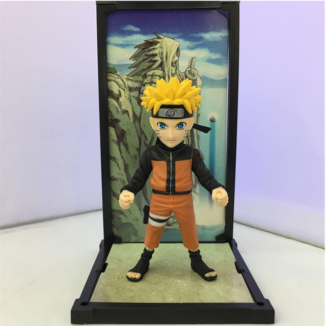 2pcs/set Naruto Sasuke + Uzumaki Figure Toy