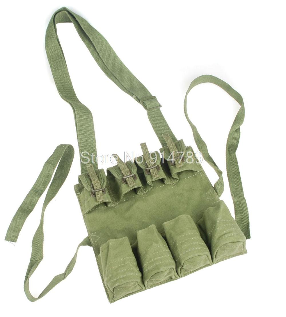 SURPLUS CHINESE PLA MILITARY STICK MAG POUCH ARMY GREEN(China)