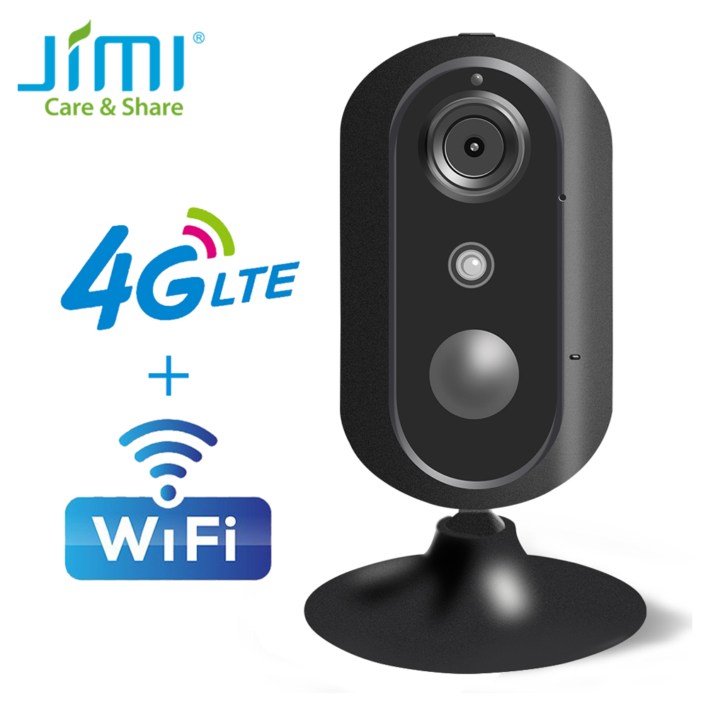 Jimi JH007 Mini Cute 720P 4G Camera Ip Camera Home Security Surveillance Camera With 30 Days Free Cloud PIR Movement Detection-in Surveillance Cameras from Security & Protection    1