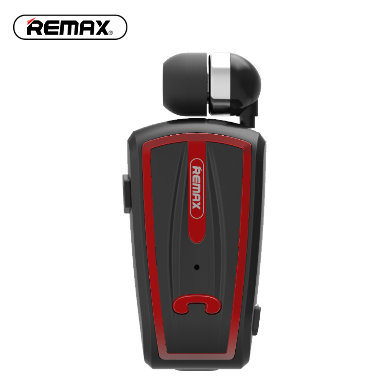 Remax T12 Wireless Bluetooth Earphone Driver Collar Clip Headset with Microphone Call Remind Handsfree Earbuds for Mobile Phone remax 2 in1 mini bluetooth 4 0 headphones usb car charger dock wireless car headset bluetooth earphone for iphone 7 6s android