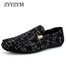 ZYYZYM Men Loafers Men Shoes Casual