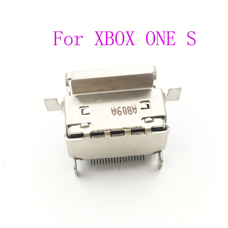 30PCS NEW For Xbox One S Console HDMI Display Port Socket Jack Connector 1080P Part board