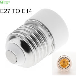 BEYLSION конвертер E27 к E14 разъем адаптера преобразования ABS Материал противопожарные гнездо адаптера держатель лампы