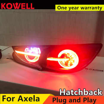 Car Styling for Mazda 3 Tail Lights 2015 Axela hatch-back version LED Tail Light dynamic turn signal DRL+Brake+Park+Sign - DISCOUNT ITEM  20 OFF Automobiles & Motorcycles