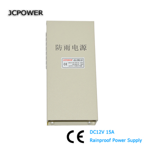 AC 220V to DC 12V 15A 180W Rainproof Power Supply Driver DC12V LED power supply outdoors application(China)