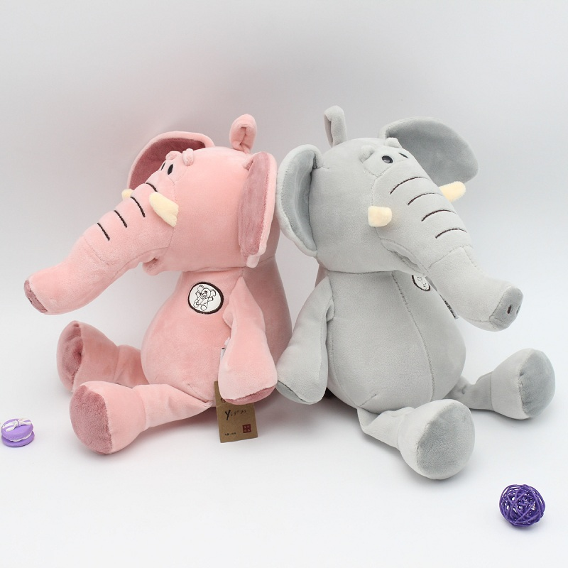 New Big Size Fashion Baby Animal Plush Elephant Doll Stuffed Elephant Plush Pillow Kids Toy Children Room Bed Decoration Toys