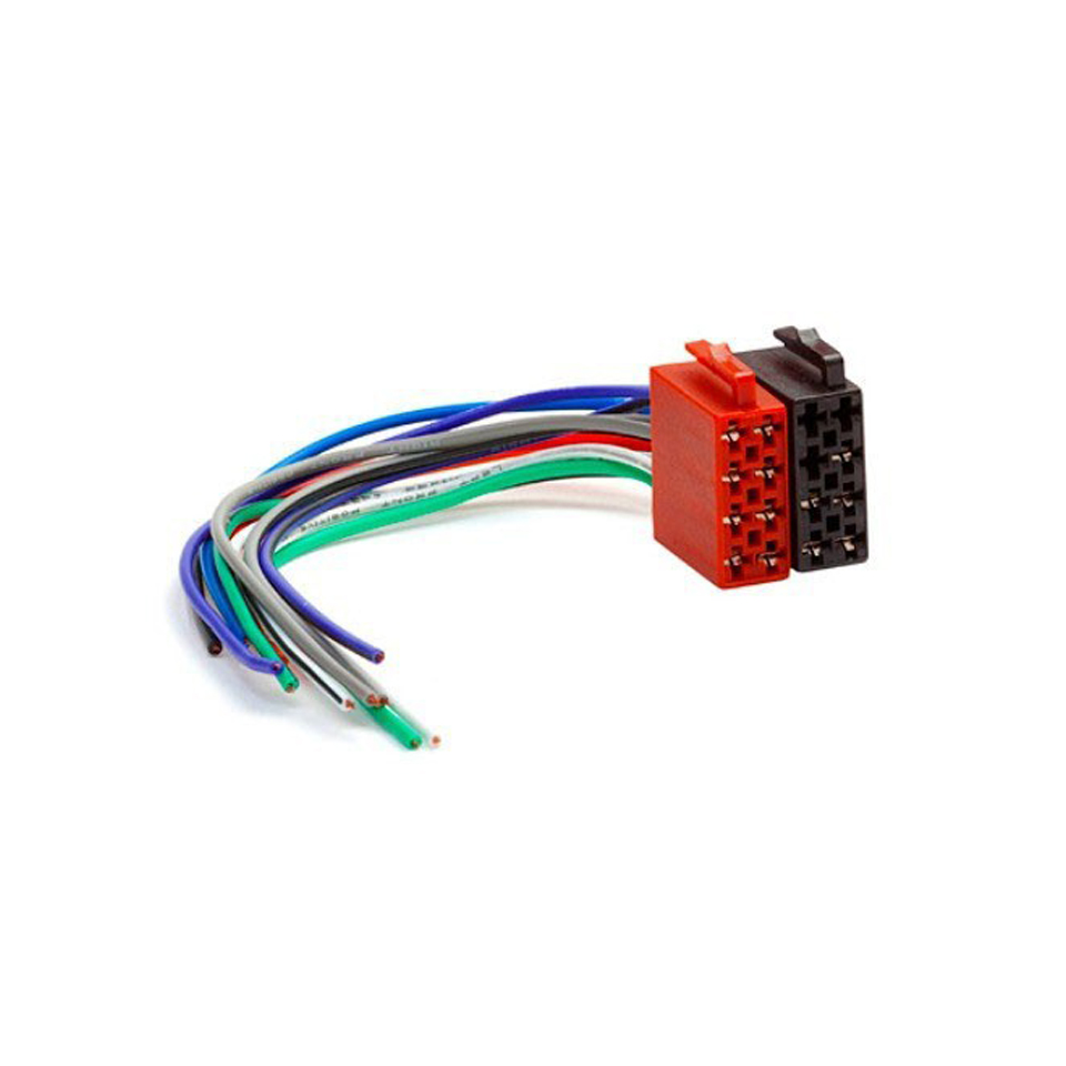 universal male iso wiring harness car stereo connector. Black Bedroom Furniture Sets. Home Design Ideas