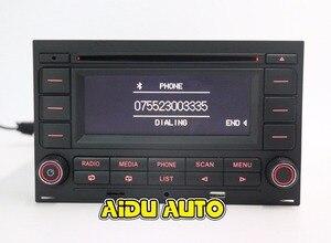 Image 4 - For VW Golf MK4 Jetta MK4 Polo Passat B5 RCN210 USB CD bluetooth USB Player Radio